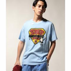 【NEW】ジャーナルスタンダード レリューム(メンズ)(JOURNAL STANDARD relume)/メンズTシャツ(TAGS WKGPTY/タグスワーキングパー…