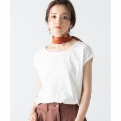 【NEW】ウィゴー(レディース)(WEGO)/USAコットンノースリーブTシャツ