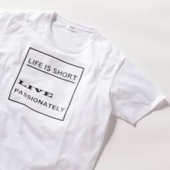 メンズビギトーキョー(MEN'S BIGI TOKYO)/エンボス加工メプリントTシャツ