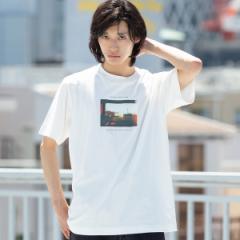 コーエン(メンズ)(coen)/カラーフォトプリントTシャツ