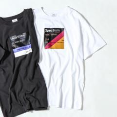 コーエン(メンズ)(coen)/レコードプリントTシャツ