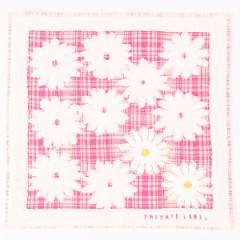 プライベートレーベル(PRIVATE LABEL/雑貨)/【約25×25cm】タオルハンカチ(レディース)