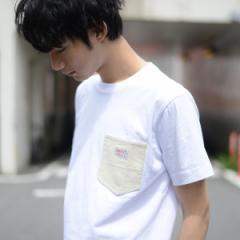 コーエン(メンズ)(coen)/【女性にもオススメ】SMITH別注コーデュロイポケットTシャツ