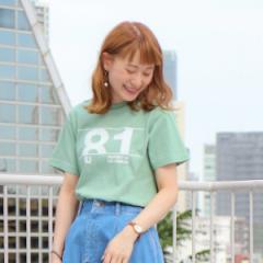 【NEW】コーエン(レディース)(coen)/【先行販売】カレッジプリントベーシックYシャツ2