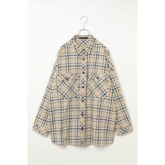 ヴァンスエクスチェンジ メンズ(VENCE EXCHANGE)/フラップポケットチェックシャツ