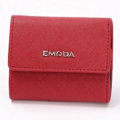 エモダ(EMODA)/EMODA 角シボ三つ折りコンパクト財布