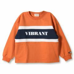 ブランシェス(branshes)/カラーブロック長袖Tシャツ