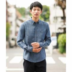 アー・ヴェ・ヴェ(メンズ)(a.v.v)/サンライトキモウボタンダウンシャツ[WEB限定サイズ]