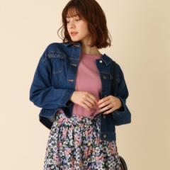 クチュールブローチ(Couture Brooch)/【WEB限定プライス手洗い可】2WAYデニムジャケット