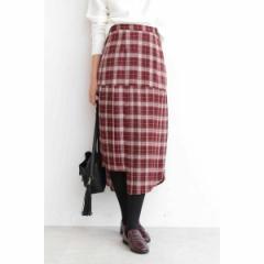 エヌ ナチュラルビューティーベーシック(N.Natural Beauty Basic*)/イレヘムプリーツマーメイドスカート