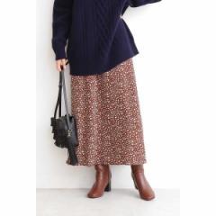 エヌ ナチュラルビューティーベーシック(N.Natural Beauty Basic*)/アニマルプリントスカート