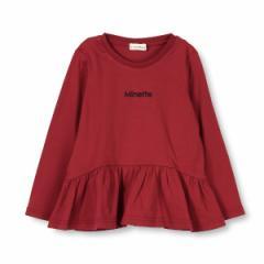 ブランシェス(branshes)/裾切り替え長袖Tシャツ