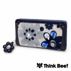 シンクビー(Think Bee!)/ブルーカナリー ラウンド財布