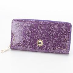 アナスイ(ANNA SUI)/ルーミーラウンド長財布(カード入れ25ヶ所の大容量)