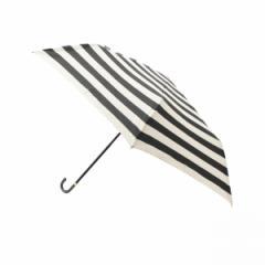 グローブ(grove)/ボーダー折りたたみ傘