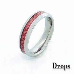 ドロップス(Drops)/ステンレス シェイプカーボンリング