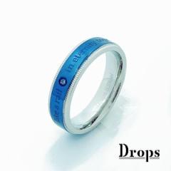 ドロップス(Drops)/ステンレス レールチタンリング