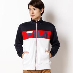 フィラ(FILA)/メンズフィットネスジップアップジャージジャケット