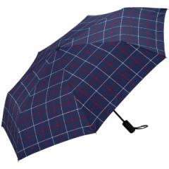 WPC/【男女兼用】大判自動開閉折りたたみ傘(ASCウィンドウペン)