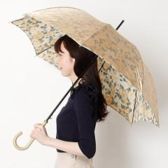 ミラ・ショーン(雑貨)(mila schon)/【7色展開】レディース長傘(ワンタッチタイプ雨傘・耐風)