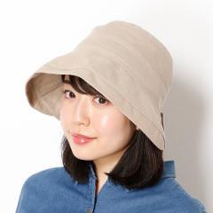 フルラ(雑貨)(FURLA)/【UV遮蔽率98%以上・洗える・サイズ調整できる】バックリボンクロッシェ(レディース帽子)