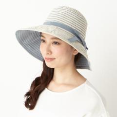 マルイの帽子/【選べる3サイズ・洗える・たためる・UVカット】ラクチンきれい帽子(ブレードハット/レディース)