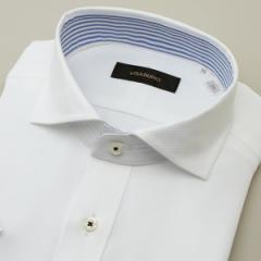 ビサルノ(VISARUNO)/【首まわり35〜50cm】半袖ラクチンすっきりシャツ(クールマックス(R)ファブリック)