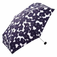 w.p.c(w.p.c)/【折りたたみ傘】ハナプリントmini/コンパクトなファスナーケース(レディース雨傘)