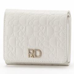 ピンキー&ダイアン(バッグ&ウォレット)(Pinky&Dianne)/ダイヤモンドダスト L字ファスナー二つ折り財布