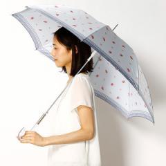 プライベートレーベル(雑貨)(PRIVATE LABEL)/【長傘】小花柄プリント雨傘(レディース)