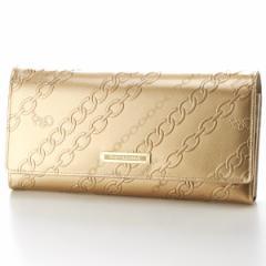 ピンキー&ダイアン(バッグ&ウォレット)(Pinky&Dianne)/チェーンエナメル 薄型長財布