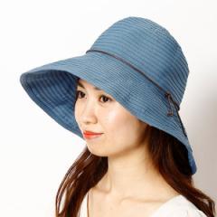 マルイの帽子(MARUI CAPS & HATS)/【選べる3サイズ・洗える・たためる・UVカット】ラクチンきれい帽子(ブレードリボンハット/レディ…