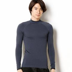 アディダス(adidas)/【adidas/アディダス】メンズTシャツ(テックフィット クライマHEAT モックネックロングスリ