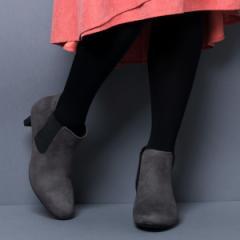 ヴェリココ(velikoko)/[ラクチンきれいブーツ]晴雨兼用サイドゴアブーツ(5cmヒール)