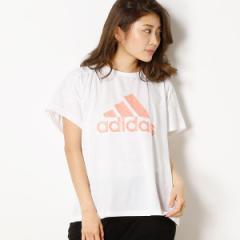 アディダス(adidas)/【adidas/アディダス】(レディースTシャツ)WビッグロゴS/STEE