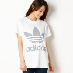 アディダス オリジナルス(adidas originals)/【アディダスオリジナルス】レディースTシャツ(BIG TREFOIL TEE)