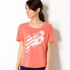 ニューバランス(new balance)/【ニューバランス】レディースTシャツ(レディーストレーニングロゴTシャツ)