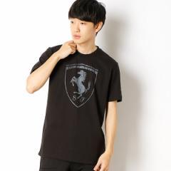 プーマ(PUMA)/【プーマ(PUMA)】SSシャツ(フェラーリ ビッグ シールド Tシャツ)