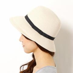 マルイの帽子(MARUI CAPS & HATS)/【アウトレット】【選べる3サイズ・洗える・UVカット】ラクチンきれい帽子(ブレードハット/レディス)