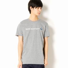 プーマ(PUMA)/【プーマ(PUMA)】メンズカジュアルSSシャツインポートサイズ(BMW MS ロゴ Tシャツ)