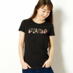 プーマ(PUMA)/【プーマ/PUMA】レディースカジュアルTシャツ(FLOWER ロゴ Tシャツ)