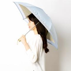 ミラ・ショーン(雑貨)(mila schon)/【折りたたみ日傘 3段折】【遮光&UV遮蔽率99%以上/遮熱】裾オーガンジー 晴雨兼用