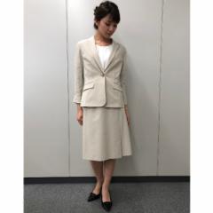 【NEW】アールユー(ru)/【XXS〜7L】綿トリコットベルト付タイトスカート