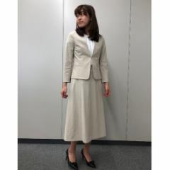 【NEW】アールユー(ru)/【XXS〜7L】綿トリコットロングスカート