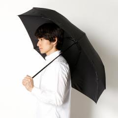 ランバン オン ブルー(雑貨)(LANVIN en Bleu)/雨傘(3段/折りたたみ/ミニ)ツイルロゴブリント(メンズ/紳士)