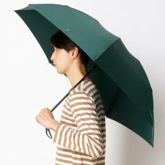 ポロ ラルフローレン(傘)POLO RALPH LAUREN(umbrella)/軽量雨傘(3段/折りたたみ/ミニ)ポニーマークワンポイント刺繍無地(メンズ/…