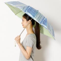 エスタ(estaa)/【折りたたみ日傘3段折】【遮光&UV遮蔽率99%以上/遮熱】nani IRO Textile晴雨兼用