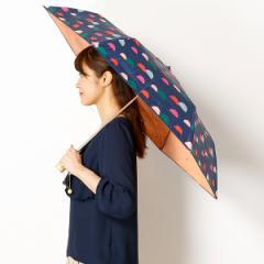 エスタ(estaa)/【折りたたみ日傘3段折】【遮光&UV遮蔽率99%〜/遮熱】estaa×PIKKU SAARI晴雨兼用