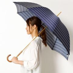 ポロ ラルフローレン(傘)POLO RALPH LAUREN(umbrella)/長傘(手開きタイプ)Pツイルボーダープリント(レディース/婦人)