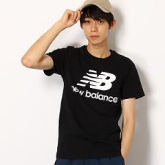 ニューバランス(new balance)/【ニューバランス】メンズTシャツ(スタックドロゴT)